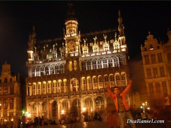 Breadhouse di Grand Place, Brussel, Belgia