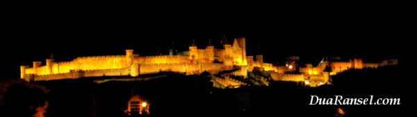Benteng Carcassonne di Perancis