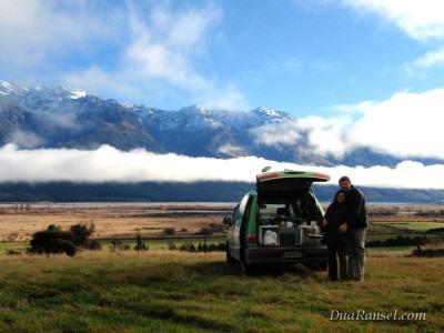 Campervan trip di Selandia Baru