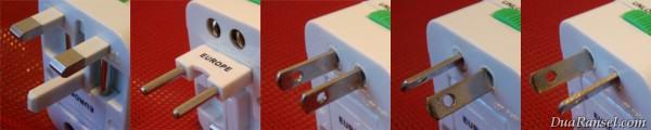 Universal adapter - berbagai plug