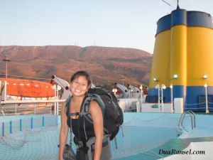 Backpacking di Yunani, menyeberangi Laut Mediterania dengan kapal