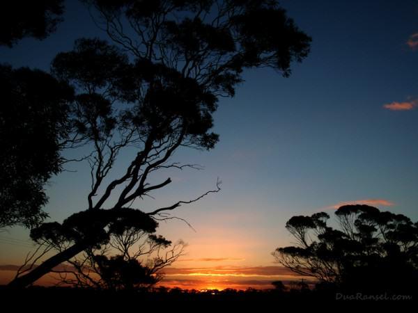Australia Victoria - Sunset near Murray Sunset National Park 800x600
