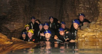 Waitomo Cave - Black water rafting - New Zealand