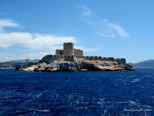 Chateau d'If, off Marseille, France