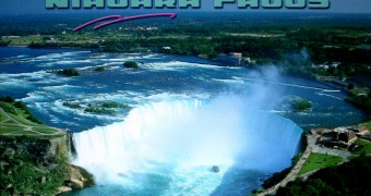 Kartu Pos Niagara Falls dari Canada