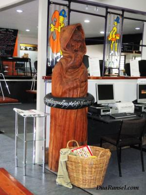 Ban LOTR di Waitomo, Selandia Baru