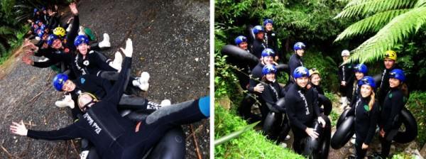 Gua Waitomo: Siap memasuki gua