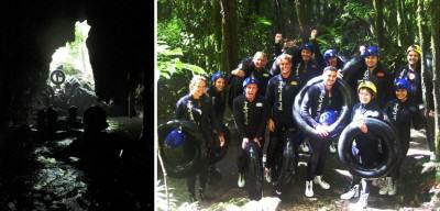 Gua Waitomo: Meninggalkan gua