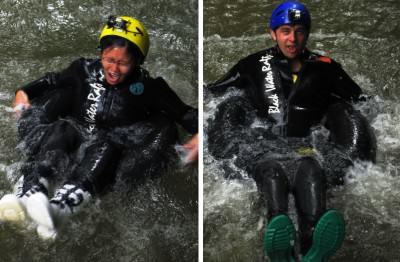Gua Waitomo: Praktek melompat di air terjun