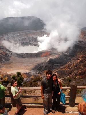 Poás Volcano di Costa Rica