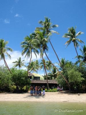 Sebuah pulau kecil di dekat Viti Levu, Fiji