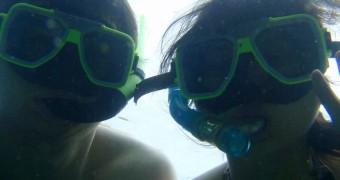Snorkeling di sup kutu laut Fiji