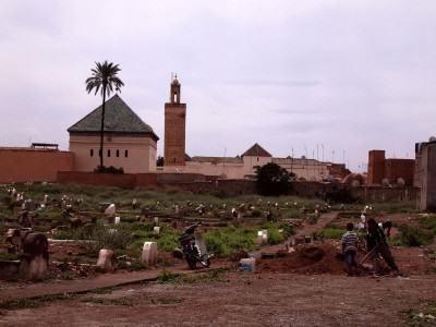 Kuburan - Marrakesh, Maroko