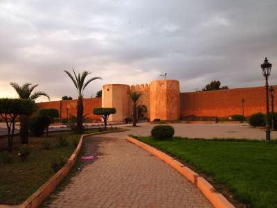 Tembok kota - Marrakesh, Maroko
