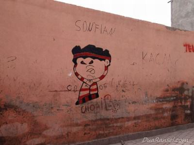 Graffiti - Marrakesh, Maroko