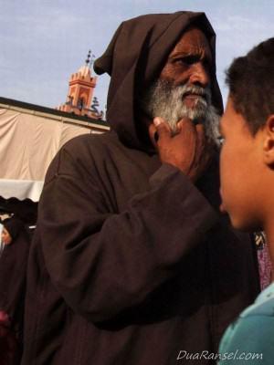 Seorang pria - Marrakesh, Maroko