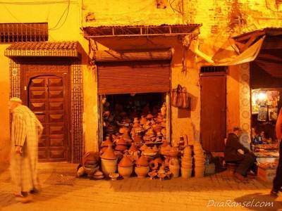 Gudang tembikar - Marrakesh, Maroko