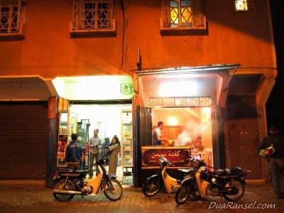 Depot kecil dan murah - Marrakesh, Maroko
