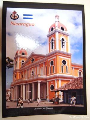 Kartu Pos DuaRansel: Cathedral of Granada, Nicaragua