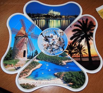 Kartu Pos DuaRansel 9: Mallorca, Spanyol