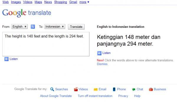 Hebatnya Google Translate