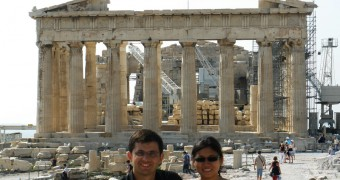 Parthenon Temple, Acropolis of Athens