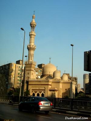 Sebuah masjid di Kairo, Mesir