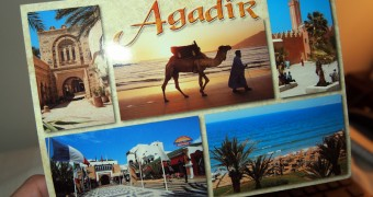 Kartu Pos DuaRansel 17 - Morocco - Agadir