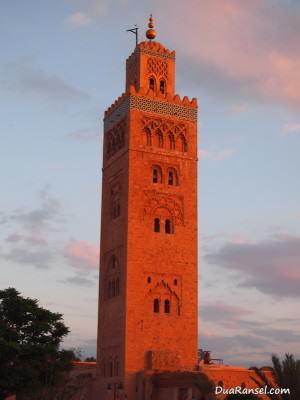 Masjid Koutoubia, Marrakesh, Maroko