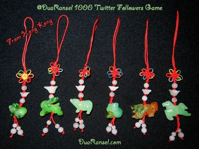 DuaRansel's 1000 Twitter Followers Game - Hadiah dari Hong Kong