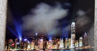 Kartu Pos DuaRansel - Hong Kong Victoria Harbour Skyline