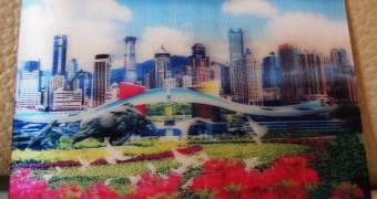 Kartu Pos DuaRansel - Shenzhen China 2R