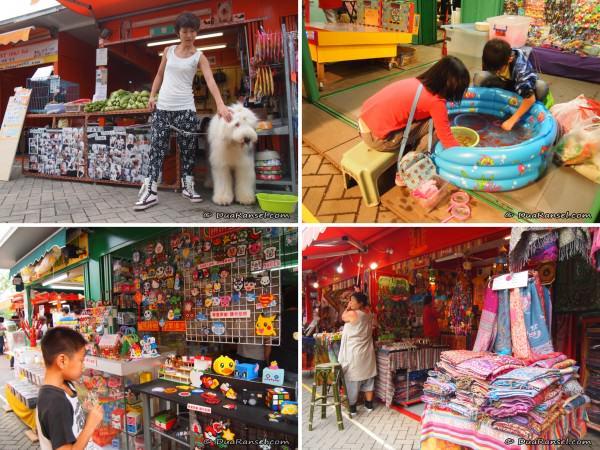Kam Sheung Road station flea market, Hong Kong