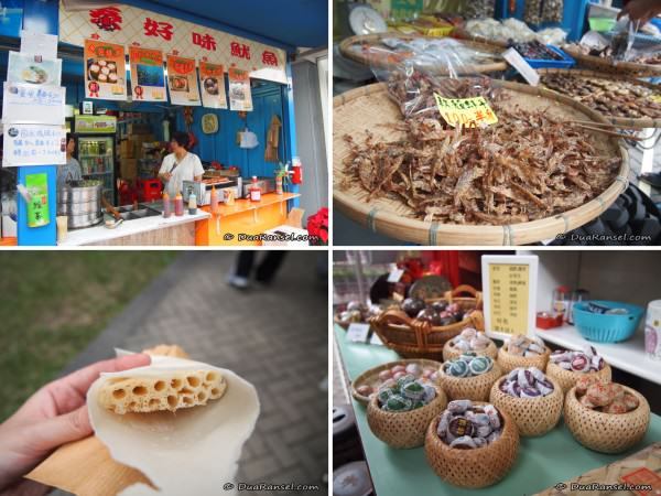 Kam Sheung Road Station flea market - food