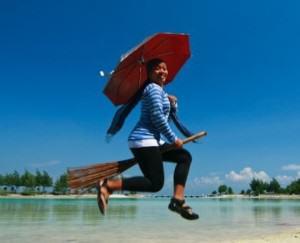 IndoJumpTravelers 01-01 Umi Akhdadiyah - Pulau Payung Kepulauan Seribu