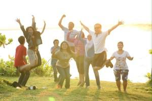 IndoJumpTravelers 02 Harry M - Batu Hiu Beach