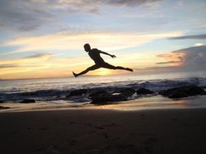 IndoJumpTravelers 08-02 Muhammad Syafiuddin - Pantai Batu Karas Green Canyon