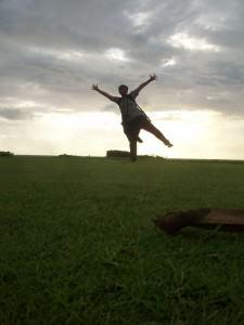 IndoJumpTravelers 09 Efenerr Lapangan Golf Bali Nirwana Resort Tanah Lot Bali