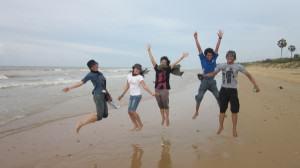IndoJumpTravelers 10 Erna Yuli - Pantai Slopeng Madura
