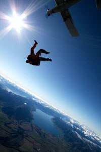 IndoJumpTravelers 15-01 Francy - Sky diving Wanaka New Zealand