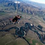 IndoJumpTravelers 15-02 Francy - Sky diving Wanaka New Zealand