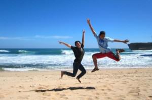 IndoJumpTravelers 17 Zie - Pantai Timang Jogja