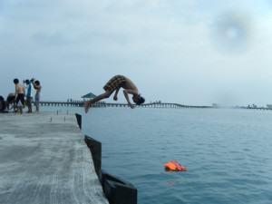 IndoJumpTravelers 24 Gian Gribaldi - Pulau Tidung