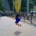 IndoJumpTravelers 07 Rischa - Batu Caves Malaysia