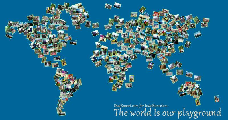 Download IndoRanselers Goodies: World Map