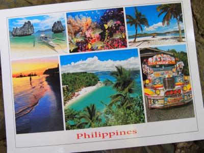 Kartu Pos DuaRansel 30 - Pulau Palawan dan Boracay Filipina