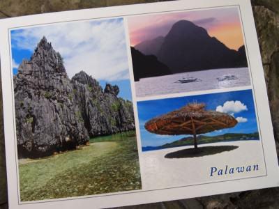 Kartu Pos DuaRansel 31 - Pulau Palawan Filipina
