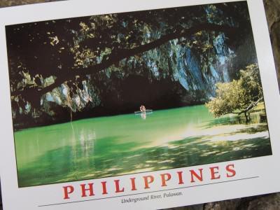 Kartu Pos DuaRansel 32 - Puerto Princesa Underground River Filipina - New7Wonder Nature