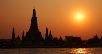 Sunset Wat Arun Bangkok