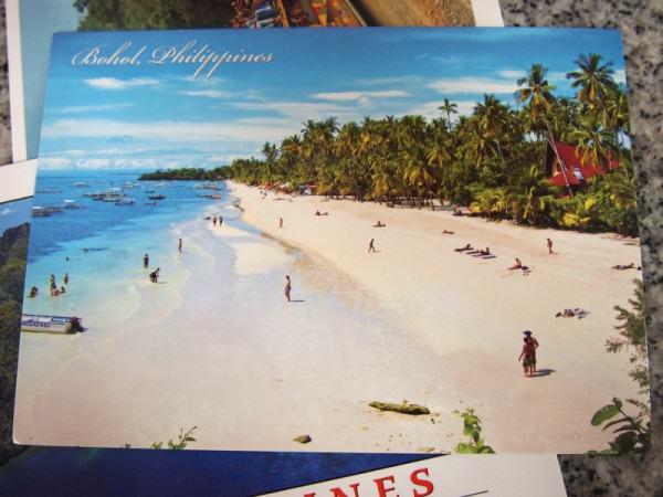 Kartu Pos DuaRansel 40 - Bohol Beach Filipina - Ignatius Mario